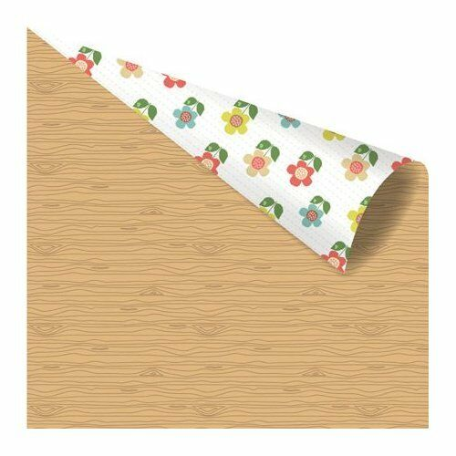 1 FOGLIO DI CARTA Yuki Collection by Ruby Violet Lumber Grove 30 cm SCRAP scr 302002285568