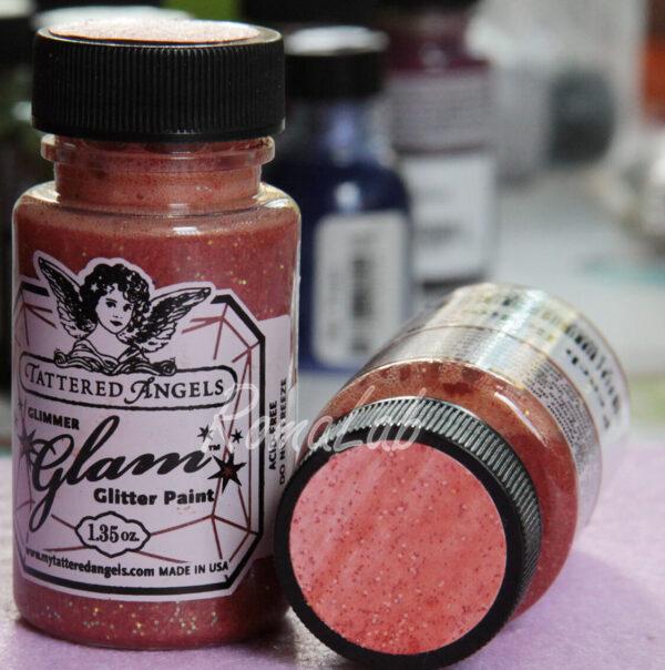 1 bottiglina di SMALTO GLIMMER GLAM TATTERED ANGELS colore peach bellini 302005593268