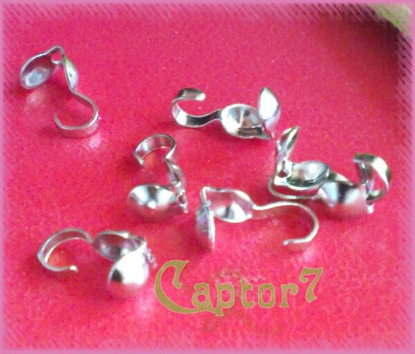 50 COPRINODO A CONCHIGLIA color argento SCURO SILVER 291904162968