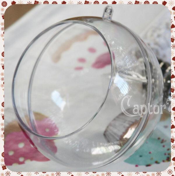 Knorr Prandell Sfera decorativa 12 cm CON APERTURA IN PLEXIGLASS apribile 302498531308