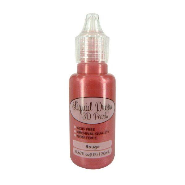 Liquid Drops 3D Pearls della Ultimate Crafts colore rouge 20 ml 292191449948
