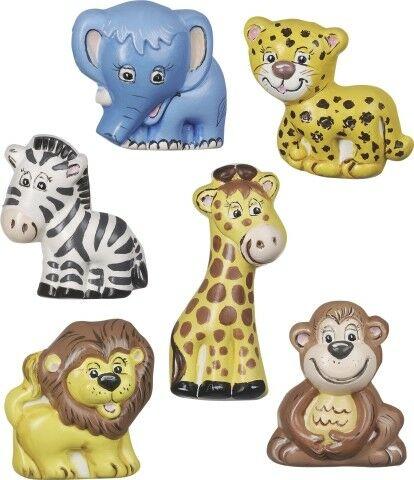 STAMPO 6 forme Safari KNORR PRANDELL FORMINE molds scimmietta leone 303012559248