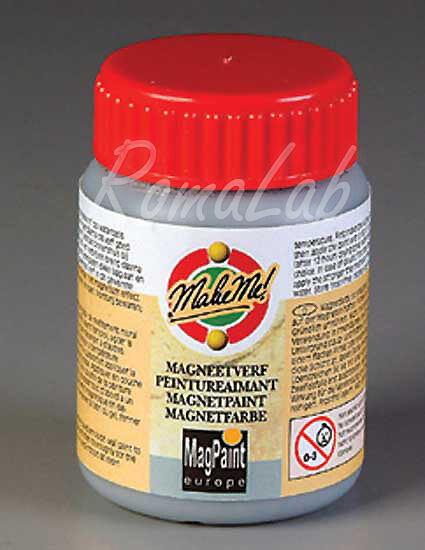 100 ml flacone DI VERNICE a base dacqua con polvere ferrosa x effetto magnetico 291808362509