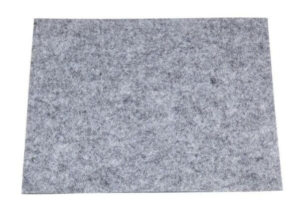 FOGLIO DI FELTRO 75X50 CM SPESSORE 3 mm PANNOLENCI grigio chiaro SCRAPBOOKING 292192367689