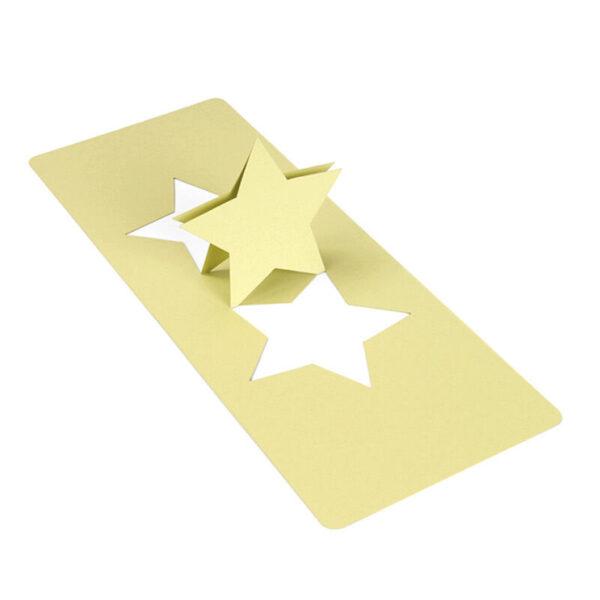 FUSTELLA PER BIG SHOT SIZZIX Pop n Cuts Magnetic Insert Die Star 3D STELLA 291808447409