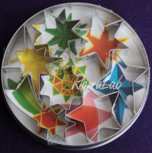 Gutermann KnorrPrandell 2154238 Set punzonatura stelleconfezione da 7 291808459339