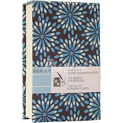 Memo Box contenitore per FOGLI appunti DCWV linea Meadow 950 x 1460 cm 291808447869