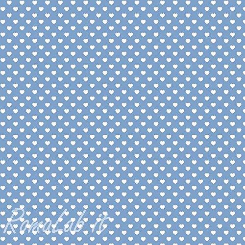 Artemio Feltro Blu Cuori Feltro 1 mm 30x30 cm B00H391WDA