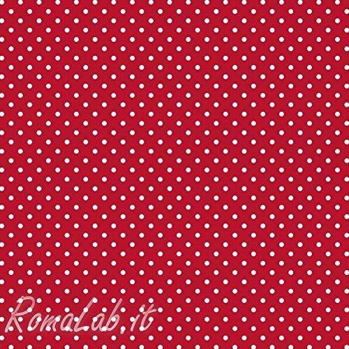 Artemio Set di 10 Fogli 1 mm a Motifs Pois Feltro Rosso 305 x 01 x 305 cm B00H39295U