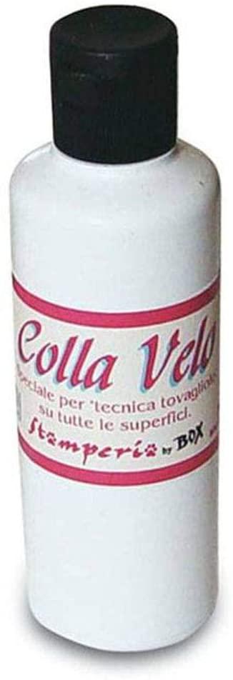 Colla Decoupage Velo a base dacqua 80ml Stamperia tovaglioli carta di riso fiori pressati DC03GV B002JANCOU