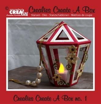 Crealies Set da 5 FUSTELLE Create a Box lanterna compatibili con Big Shot B017BLHX6O