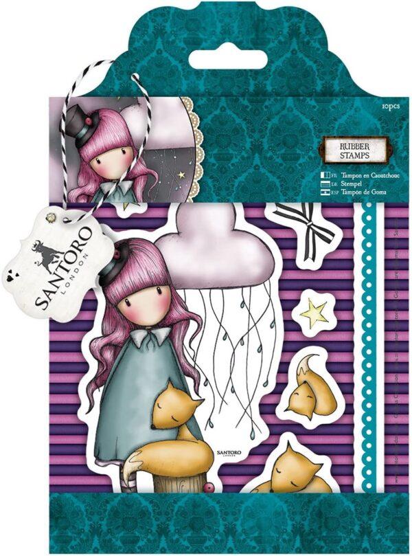 Docrafts Santoro Decorazione in Gomma MOD The Dreamer B00V97K7VA