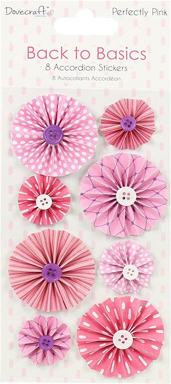 Dovecraft Back to Basics Perfettamente Rosa Collection Carta Pink 15 x 15 x 3 cm B072FKBS51