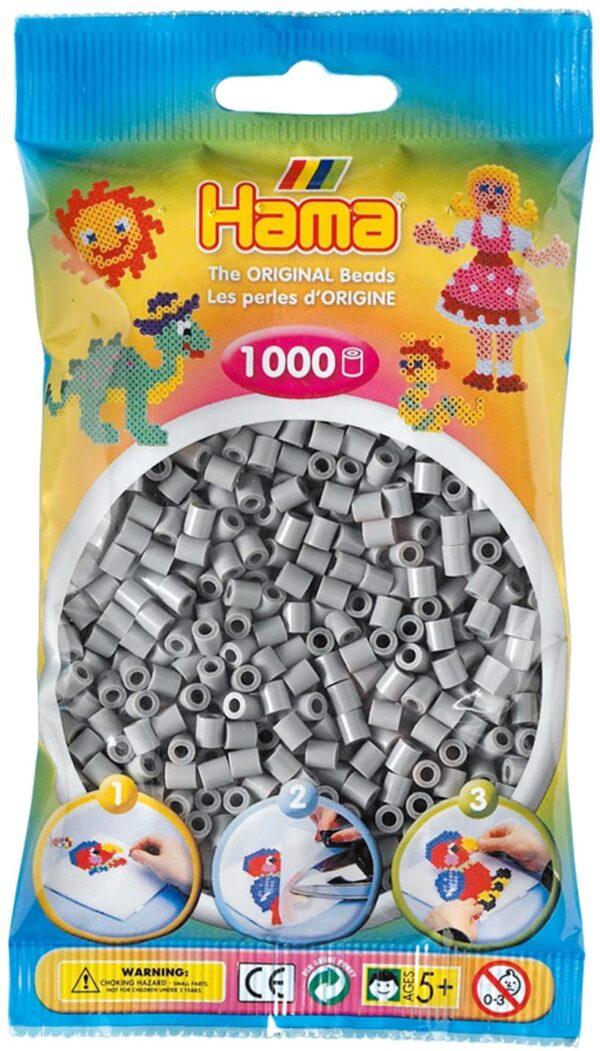 Hama 207 17 Perle 1000 Pezzi Colore Grigio B0009JJL5W