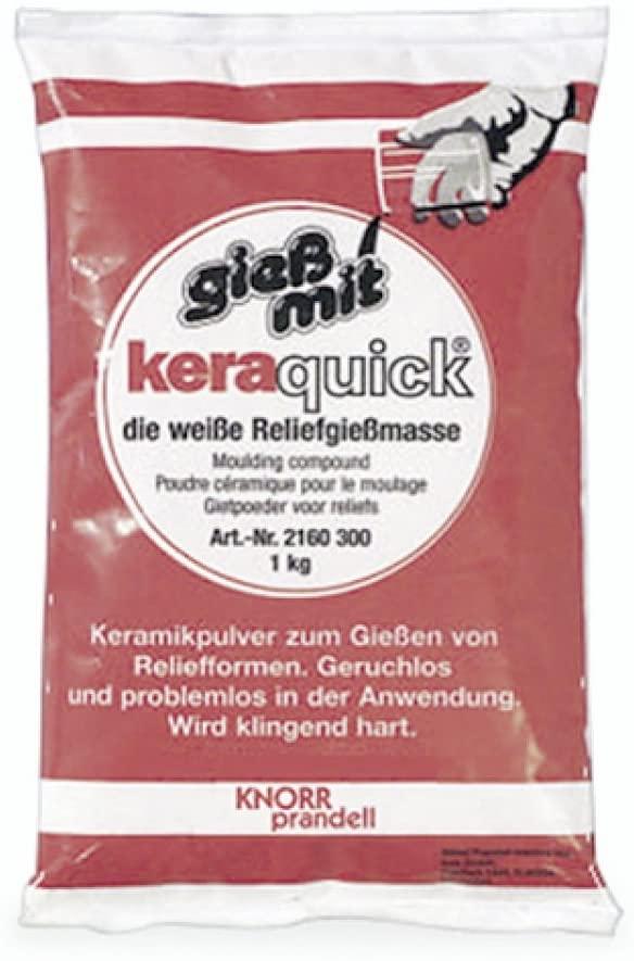 Knorr Prandell keraquick pasta da irrigazione di colore bianco Standard 1000g bianco B0012FFVNS