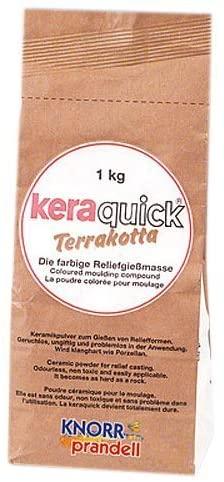 KnorrPrandell 2162000 Pasta da Modellare Keraquick Terrakotta 1 kg B000VPG2AG