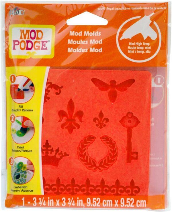 MOD Podge MOD Mold Royal Icons B00DV8ZV84