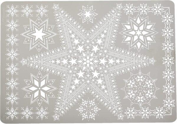 Pergamano Multi griglia 21 stelle per goffratura e perforazione colore bianco B0043J98PM