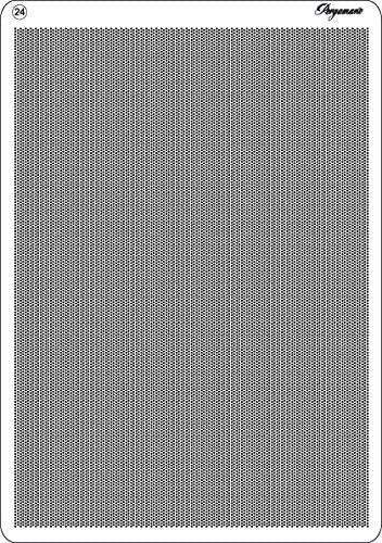 Pergamano Multi griglia 24 Diagonale per goffratura e Perforazione Colore Grigio B0056HT5QC