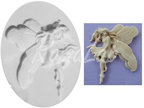Piccolo STAMPO IN SILICONE fatina FORMINA fata fairy elfa elf fatine stampino B07BTN9TPR