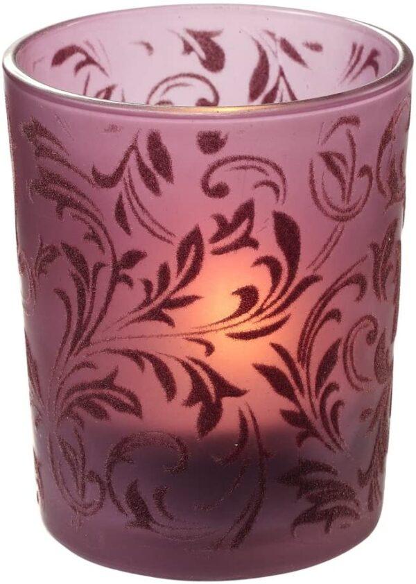 Portacandela in vetro porta candele ORNAMENTI DECORAZIONI Porta tea light 55 cm B00L387EY8