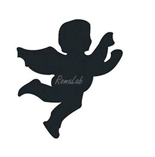 RomaLab 1 PERFORATRICE Fustella per Scrapbooking Angelo cherubino con Ali Amore Angel B07L7FKXV4