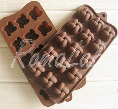 RomaLab Stampo in Silicone Intreccio per Praline Cioccolata CIOCCOLATTINI Uso Alimentare B079YXKRQG