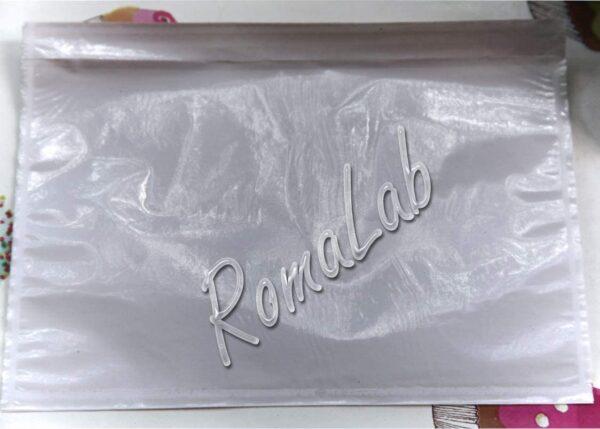 RomaLabit 10 Buste Portadocumenti ADESIVE PLASTICA 235 x 175 cm per spedizioni fatture B07J465V5Z