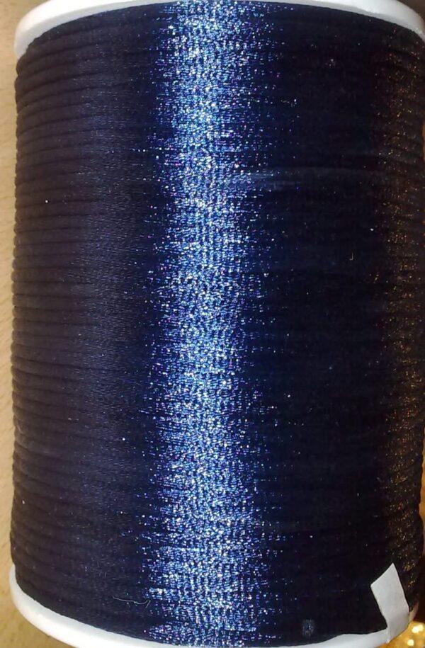 RomaLabit 6 MT FILO CODINO DI TOPO CORDONCINO 2mm coda BLU NOTTE B07CFWD3BX