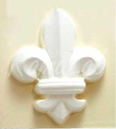 RomaLabit STAMPO a forma di giglio fiorentino per colate gesso FIMO FORMINE clay gessetti B073C6P8X3