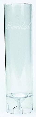 RomaLabit STAMPO per CANDELA grande FORMA cilindrica FORMINE MOLDS per COLATE di CERA B07FLSC4TY