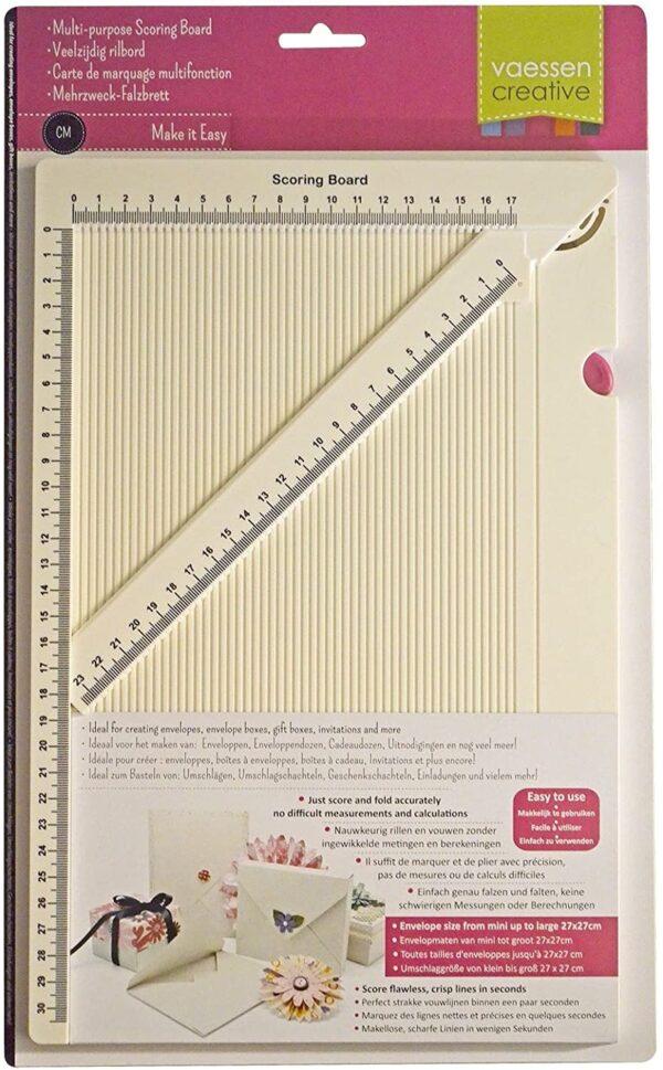 Scoring board A4 taglierina per scatoline biglietti buste SCRAPBOOKING Score taglio cm B073C8SM8R
