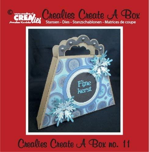 Set da 2 FUSTELLE Crealies Create a Box borsetta compatibili con Big Shot B01LVTVDBH