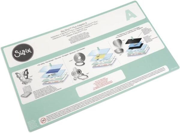 Sizzix 660585 Accessori Adattatore B Big Shot Plus Acciaio Inossidabile Bianco 381 x 226 x 03 cm B00R50GGE2