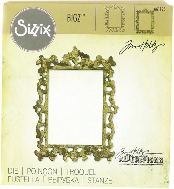 Sizzix Cornici Decorative 2 by Tim Holtz Bigz Die in plastica ABS CARB Conforme in LegnoAcciaio Articolo Lama e Spug B01AMLGNPW