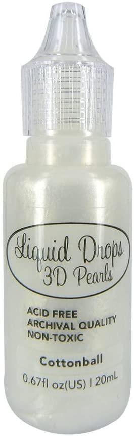 Ultimate Crafts Liquid Drops 3D Pearls Colore Cottonball 20 ml B07454CQBC