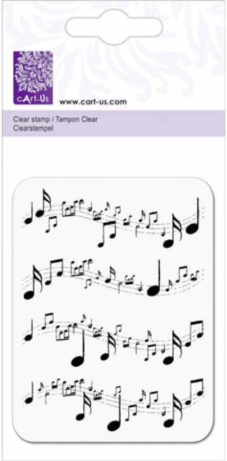 cArt Us Clear Musical Notes Timbro B008FXU39C
